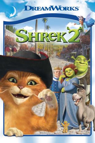 movie poster for Shrek 2