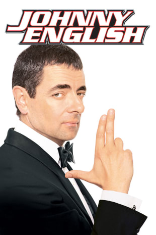 movie poster for Johnny English