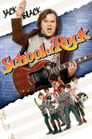 movie poster for School Of Rock