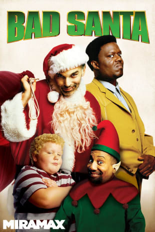 movie poster for Bad Santa