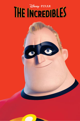 movie poster for The Incredibles