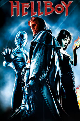 movie poster for Hellboy (2004)
