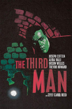 movie poster for The Third Man (re)