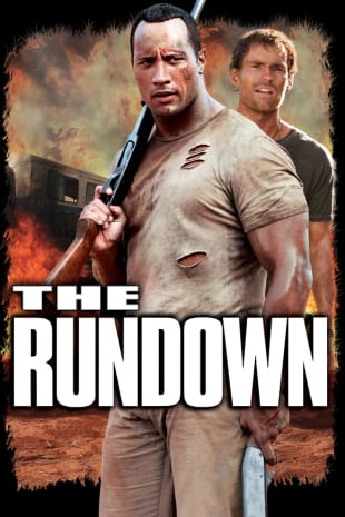 movie poster for The Rundown