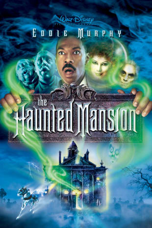 movie poster for The Haunted Mansion