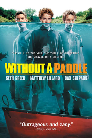 movie poster for Without A Paddle