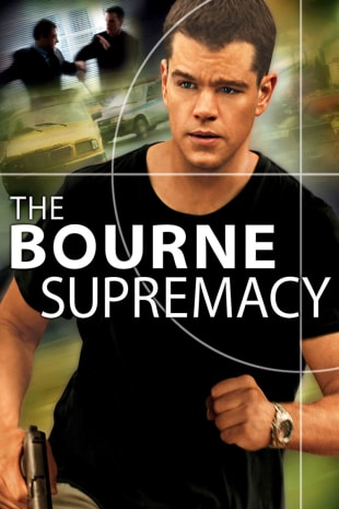 movie poster for The Bourne Supremacy
