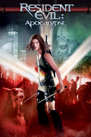 movie poster for Resident Evil: Apocalypse