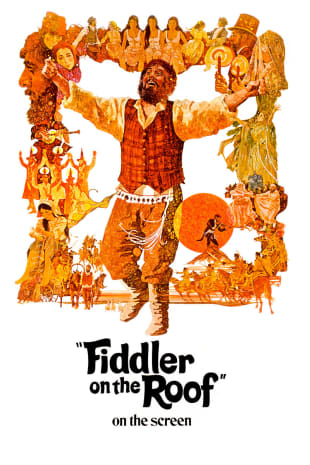 movie poster for Fiddler On The Roof