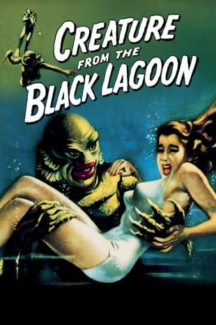 movie poster for Creature From The Black Lagoon