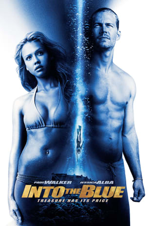 movie poster for Into The Blue
