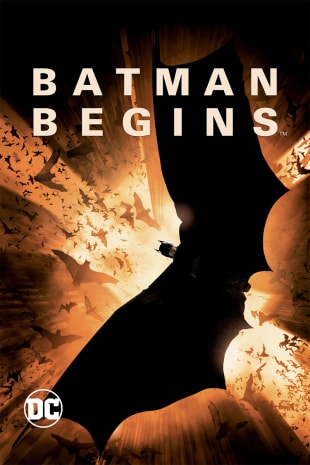 movie poster for Batman Begins