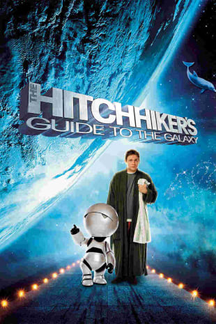 movie poster for The Hitchhiker's Guide To The Galaxy