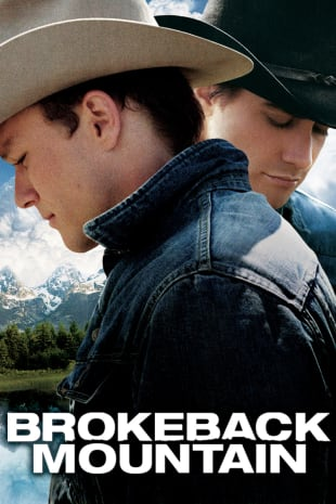 movie poster for Brokeback Mountain