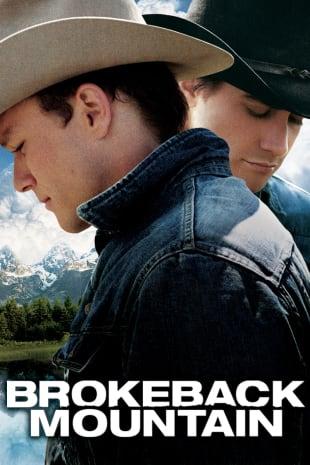 movie poster for Brokeback Mountain