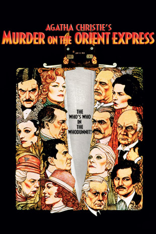 movie poster for Murder On The Orient Express (1974)