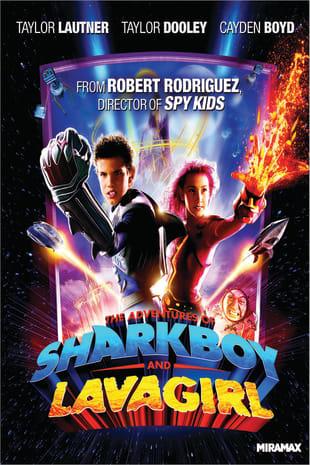 movie poster for Adventures of Shark Boy & Lava Girl - 3D