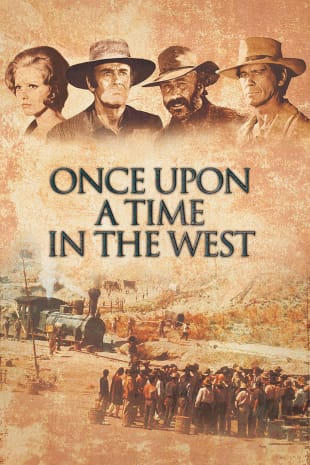 movie poster for Once Upon A Time In The West