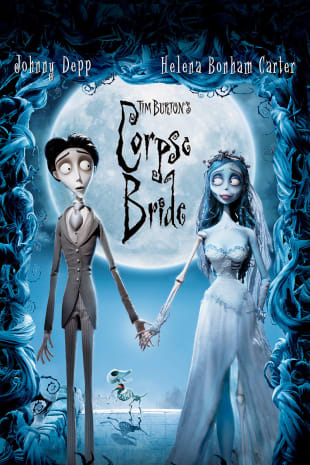 movie poster for Tim Burton's Corpse Bride
