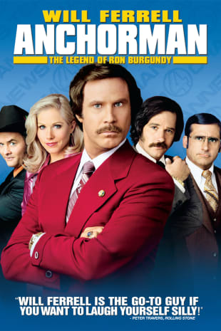 movie poster for Anchorman