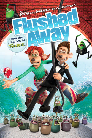 movie poster for Flushed Away