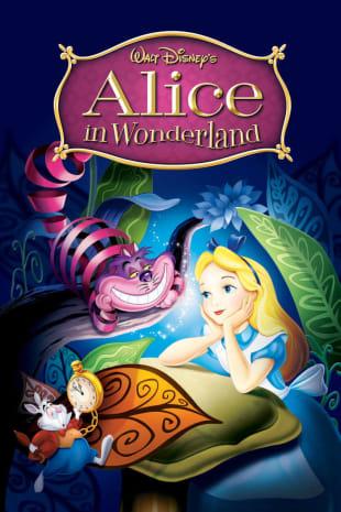 movie poster for Alice In Wonderland (1951)
