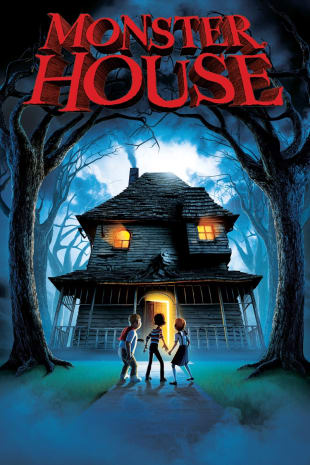 movie poster for Monster House