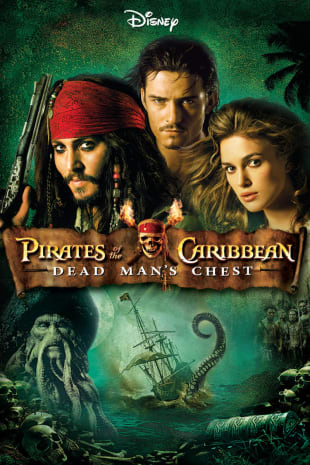 movie poster for Pirates Of The Caribbean: Dead Man's Chest