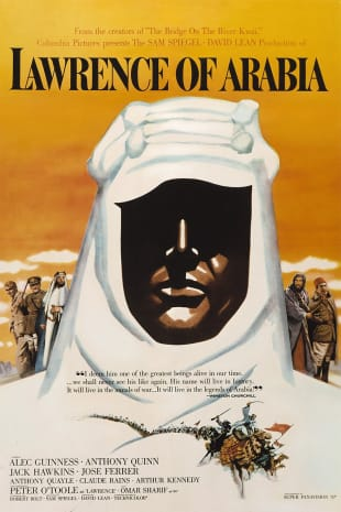 movie poster for Lawrence Of Arabia (1962)