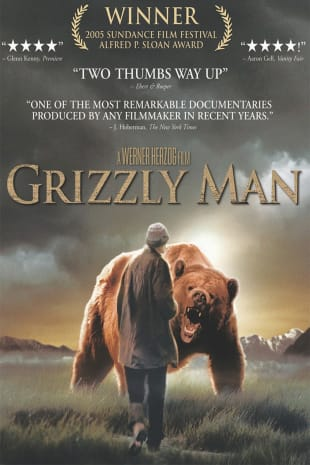 movie poster for Grizzly Man