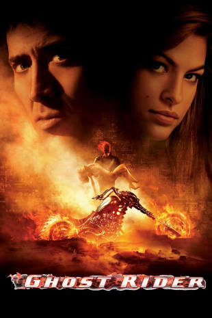 movie poster for Ghost Rider