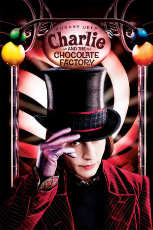 movie poster for Charlie And The Chocolate Factory