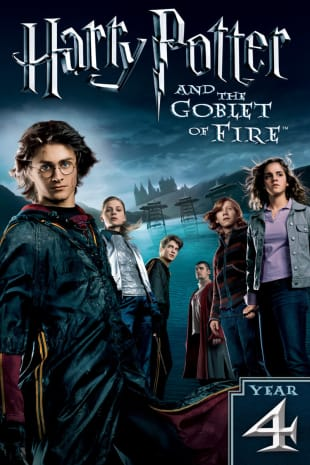 movie poster for Harry Potter And The Goblet Of Fire