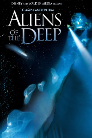movie poster for Aliens of the Deep