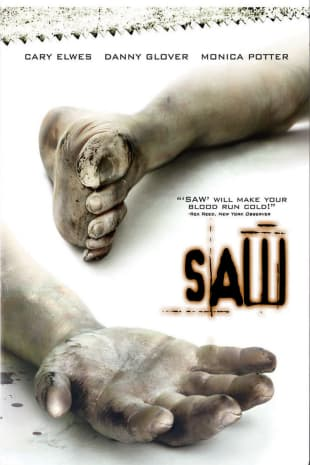 movie poster for Saw