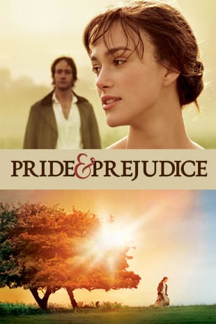 movie poster for Pride & Prejudice