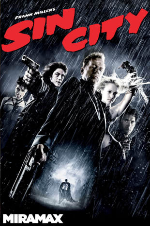 movie poster for Sin City (2005)