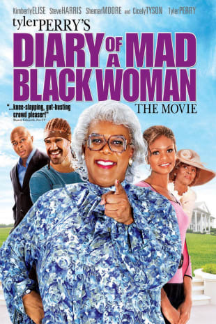 movie poster for Diary Of A Mad Black Woman
