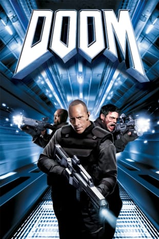 movie poster for Doom