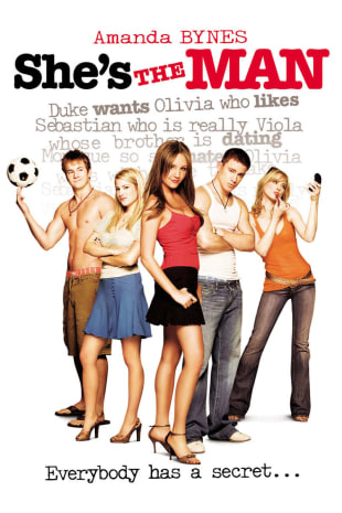 movie poster for She's The Man (2006)