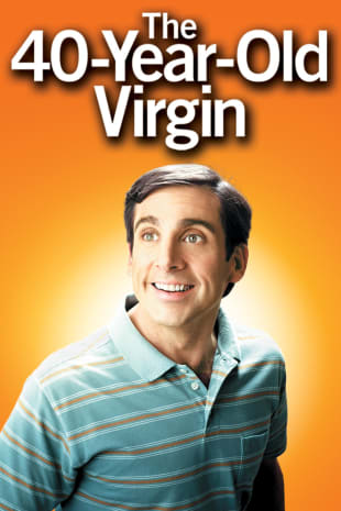 movie poster for The 40 Year-Old Virgin