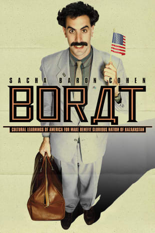 movie poster for Borat