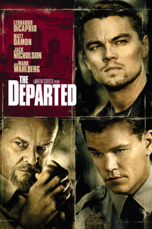 movie poster for The Departed