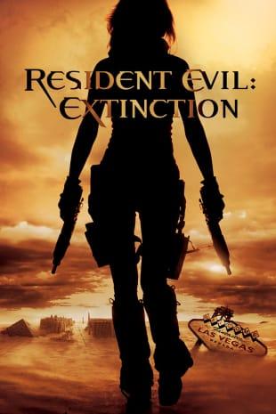 movie poster for Resident Evil: Extinction
