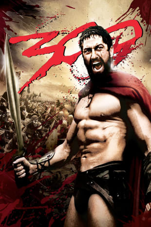 movie poster for 300