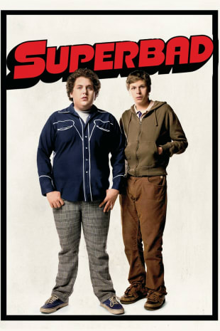 movie poster for Superbad