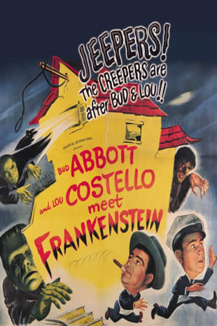 movie poster for Abbott & Costello Meet Frankenstein
