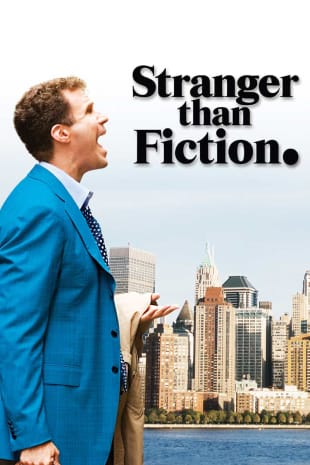 movie poster for Stranger Than Fiction