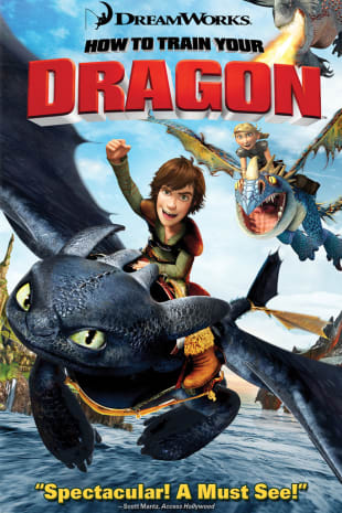 movie poster for How To Train Your Dragon