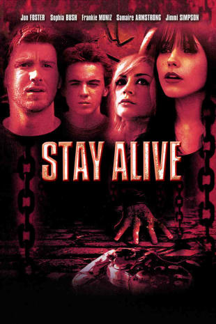 movie poster for Stay Alive